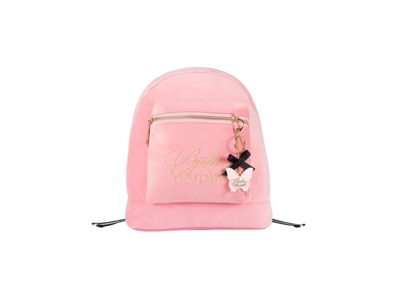 Batoh Pink Velvet 1
