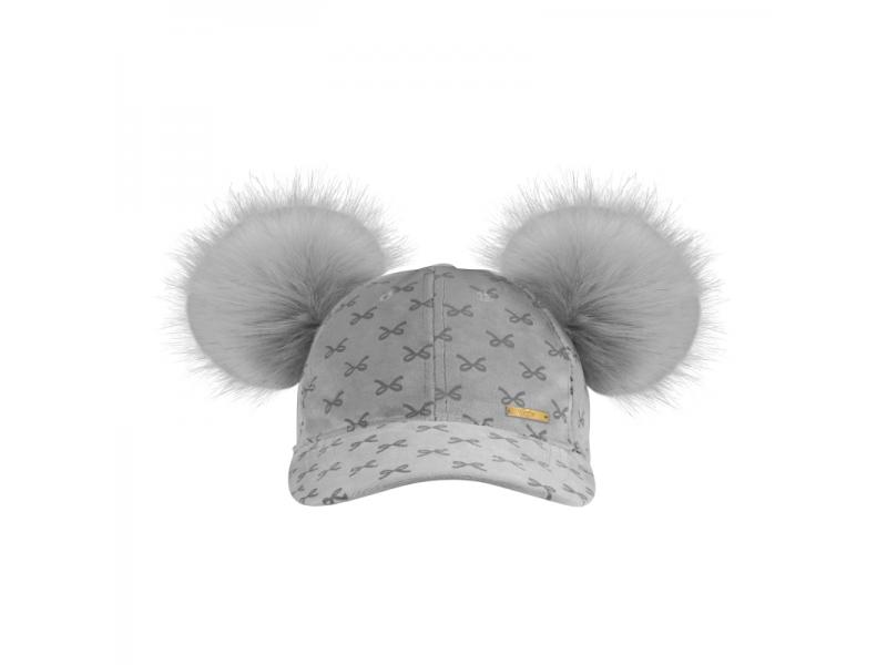 Kšiltovka Grey Bow Collection 1