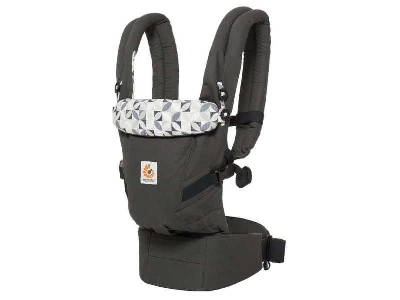 Ergobaby Nosítko Adapt - Graphic Grey
