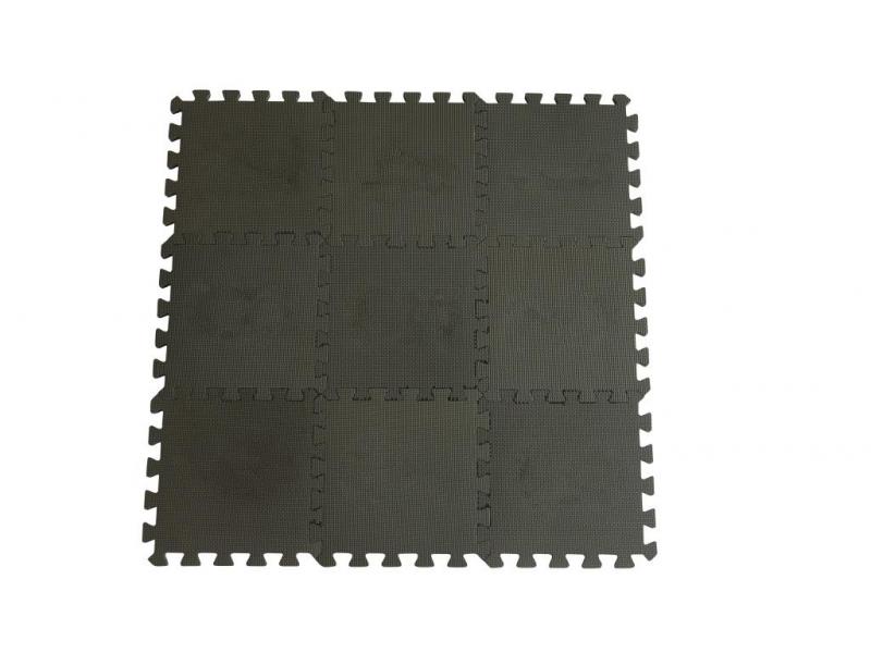 Hrací podložka puzzle Dusty Grey 90x90 cm 1