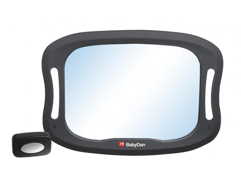 Nastavitelné zpětné zrcadlo do auta s LED osvětlením 1
