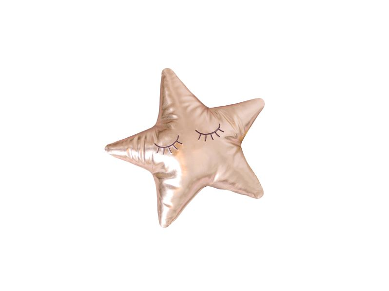 Měkký polštářek - zlatá hvězda 1