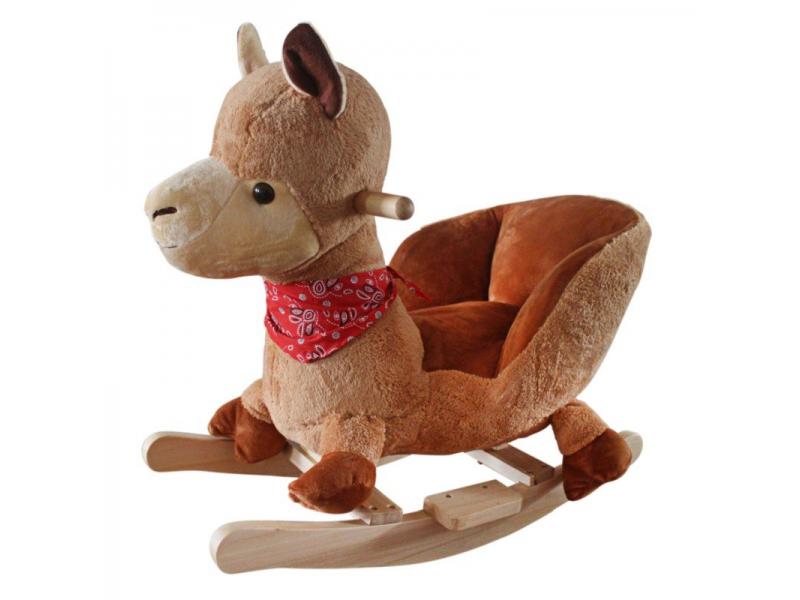BabyGo houpací zvířátko Lama