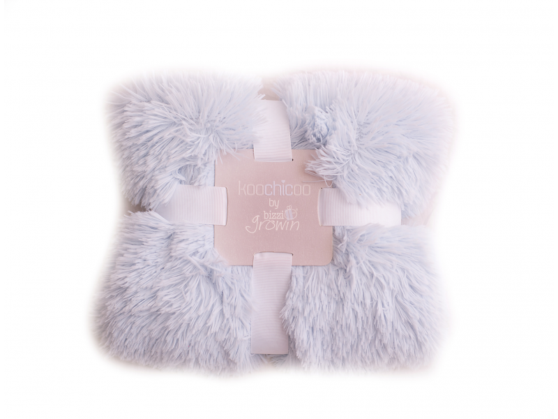 Bizzi Growin Luxusní deka - modrá