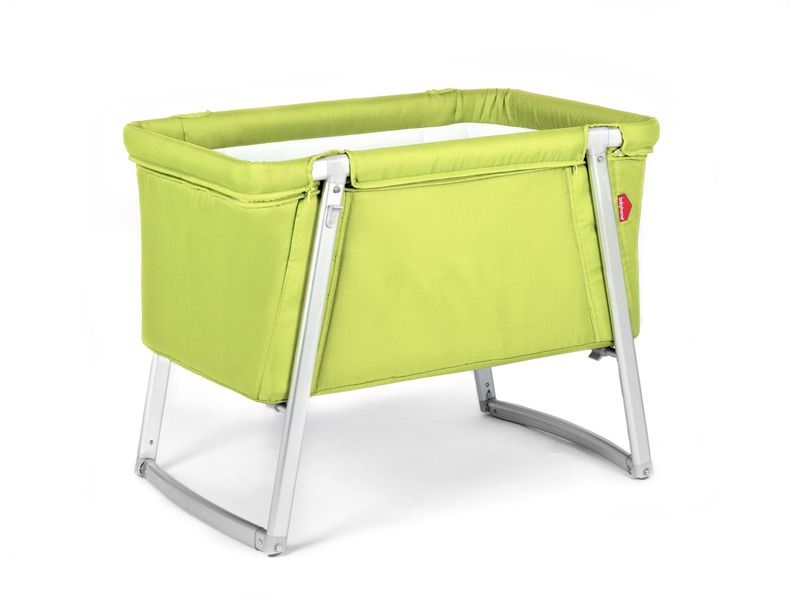 BabyHome Postýlka Dream Lime