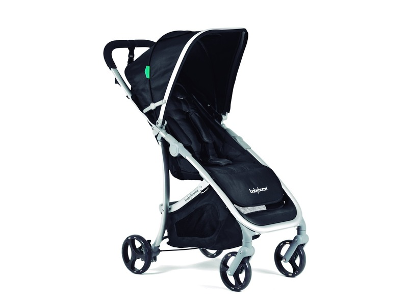 BabyHome Kočárek Emotion Black