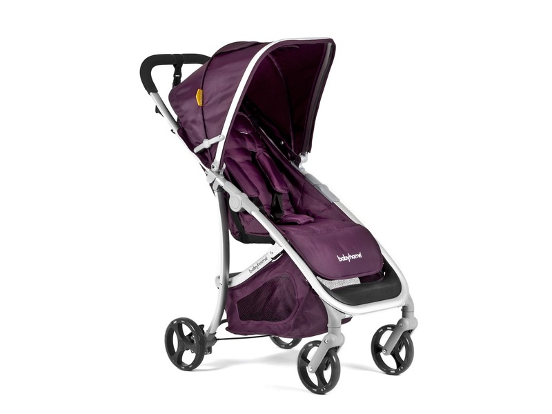 BabyHome Kočárek Emotion Purple