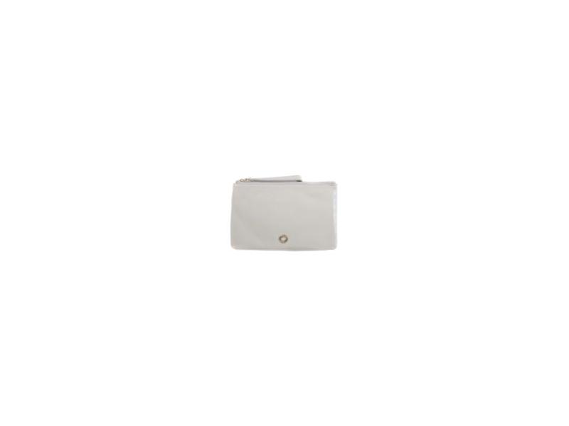 BHODIE ICE GREY - malá kožená taška na ruku 1