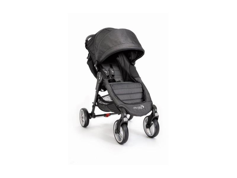 Baby Jogger kočárek CITY MINI 4 KOLA barva BLACK/GRAY