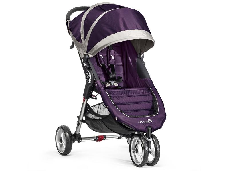 Baby Jogger kočárek CITY MINI barva PURPLE/GRAY