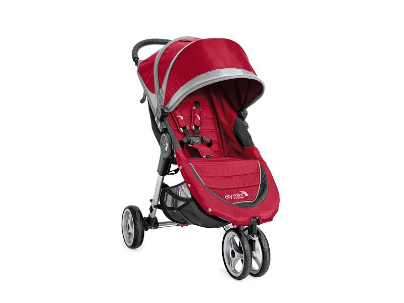 Baby Jogger kočárek CITY MINI barva CRIMSON/GRAY