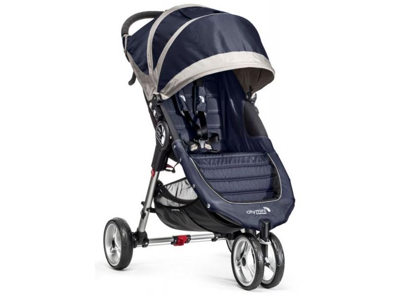 Baby Jogger kočárek CITY MINI barva NAVY BLUE/GRAY
