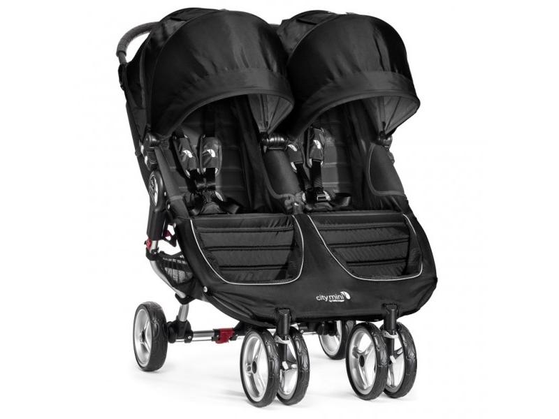 Baby Jogger sourozenecký kočárek CITY MINI DOUBLE barva BLACK/GRAY
