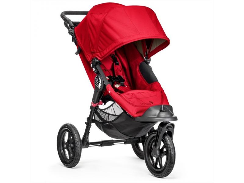Baby Jogger Kočárek CITY ELITE barva RED