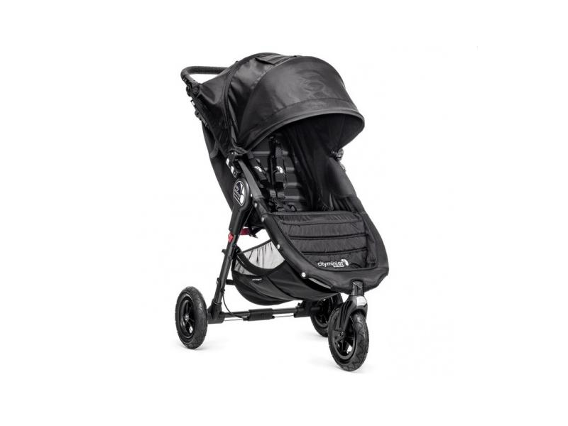 Baby Jogger kočárek CITY MINI GT barva BLACK/BLACK