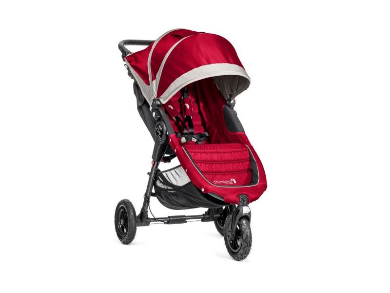 Baby Jogger kočárek CITY MINI GT barva CRIMSON/GRAY