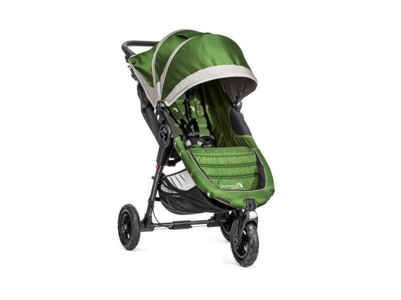 Baby Jogger kočárek CITY MINI GT barva LIME/GRAY