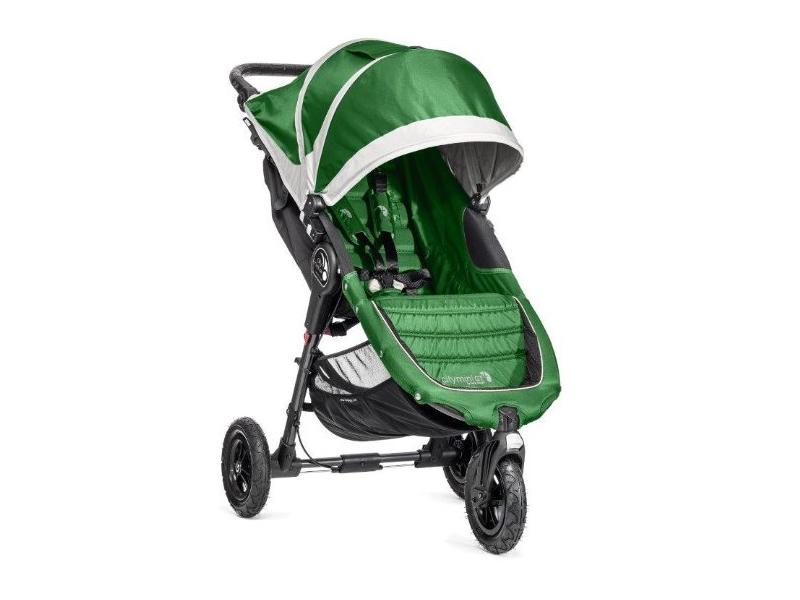 Baby Jogger kočárek CITY MINI GT barva EVERGREEN/GRAY