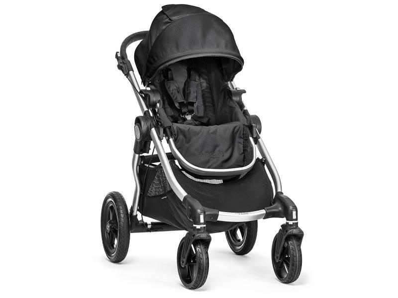 Baby Jogger kočárek CITY SELECT - STŘÍBRNÝ RÁM barva ONYX