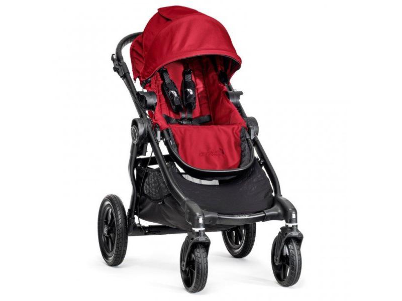 Baby Jogger kočárek CITY SELECT – ČERNÝ RÁM BARVA RED