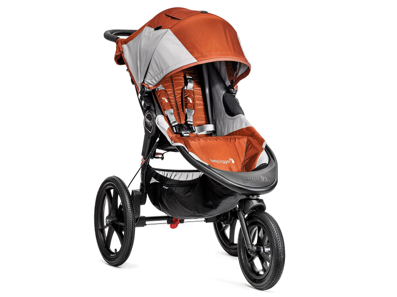Baby Jogger kočárek SUMMIT X3 barva ORANGE/GRAY