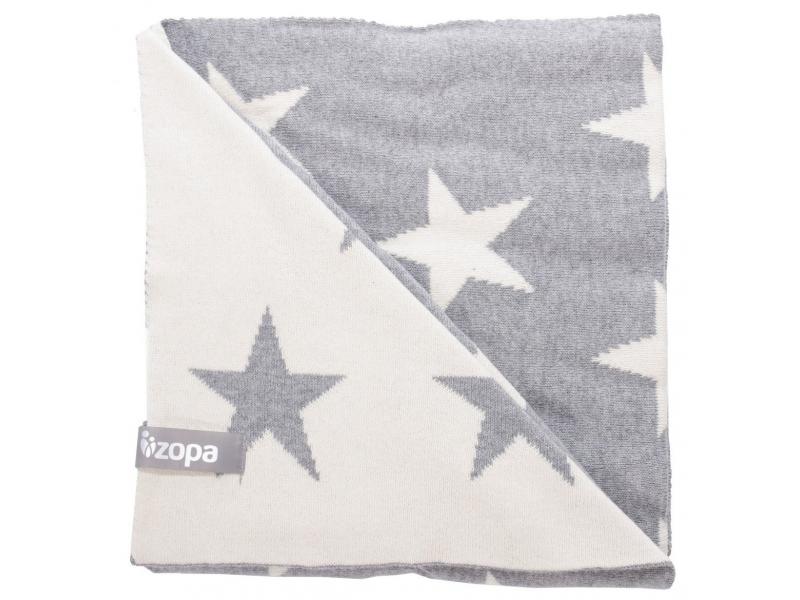 Zopa Dětská deka Stars, Grey