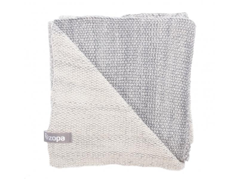 Zopa Dětská deka Melange, Grey