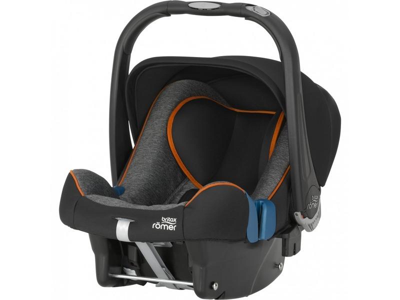 Britax Römer Autosedačka Baby-Safe Plus Shr II Black marble