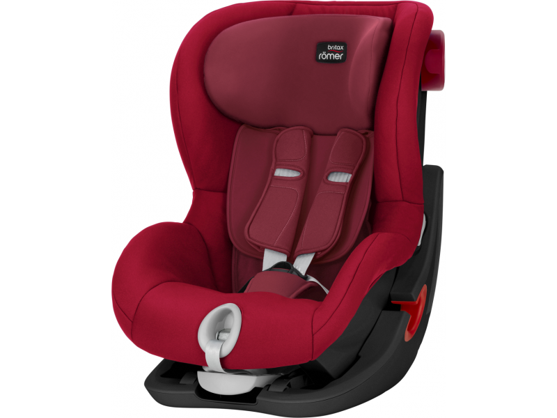 Britax Römer Autosedačka King II Black, Flame Red