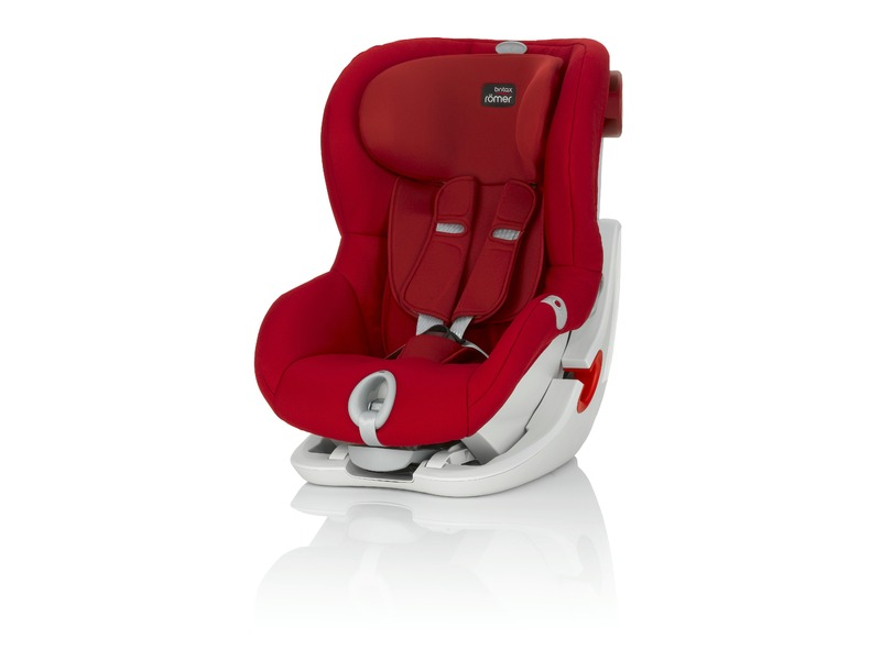 Römer Autosedačka King II LS, Flame Red
