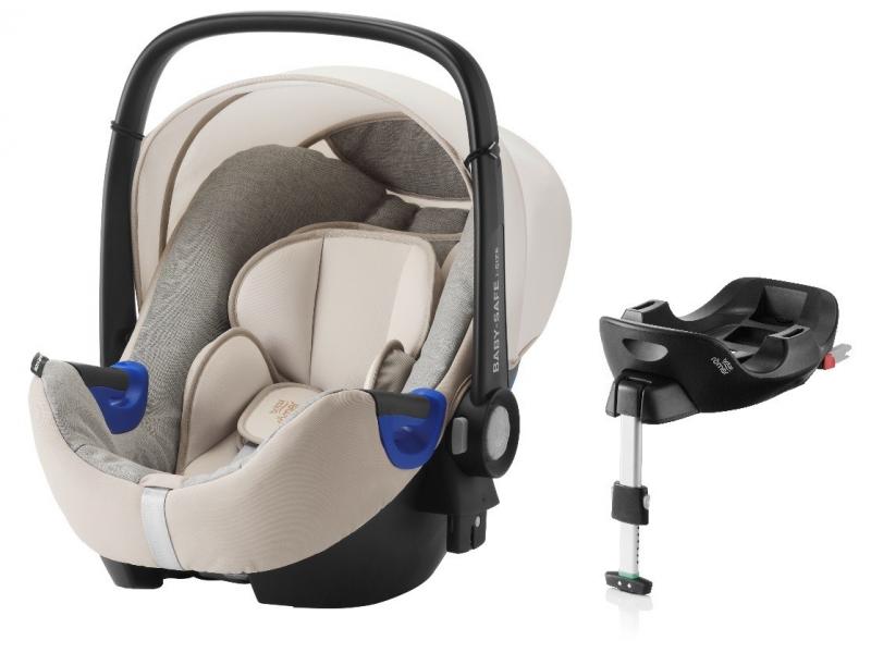 Britax Römer Autosedačka Baby-Safe i-Size Bundle Flex_Sand Marble
