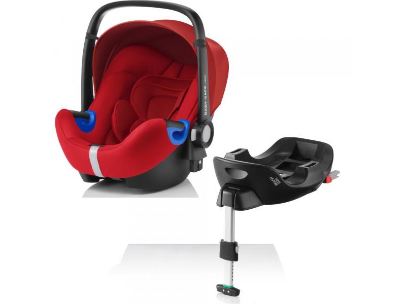 Britax Römer Autosedačka Baby-Safe i-Size Bundle Flex Flame Red 2017