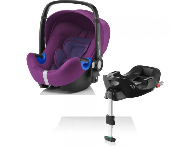 Britax Römer Autosedačka Baby-Safe i-Size Bundle Flex Mineral Purple 2017