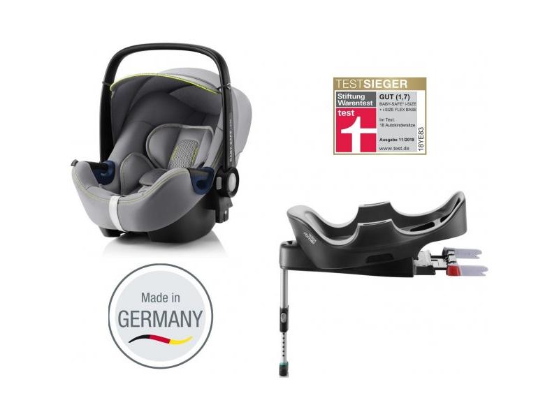 Autosedačka Baby-Safe 2 i-Size Bundle Flex, Cool Flow-Silver 1
