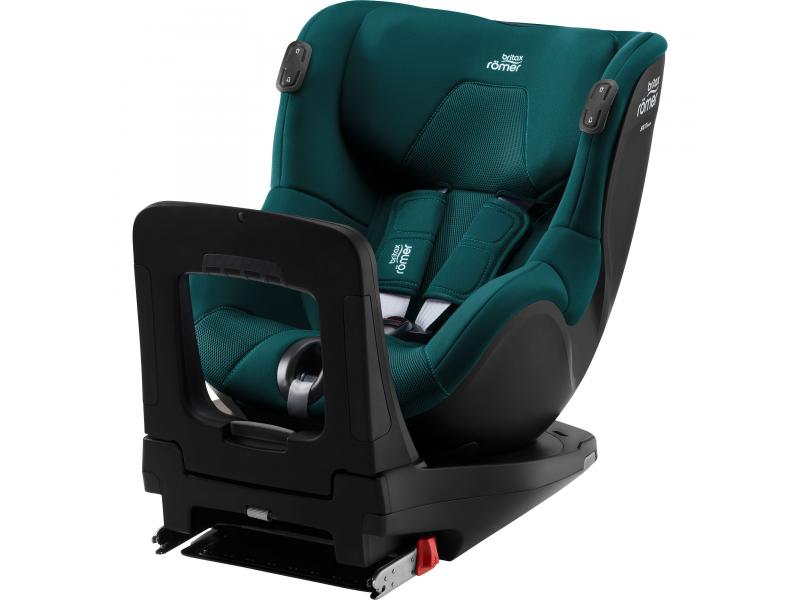 Autosedačka Dualfix 3 i-size Bundle Flex iSense, Atlasntic Green 1