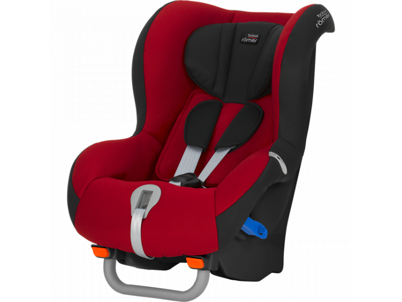 Britax Römer Autosedačka Max-Way Black, Flame Red