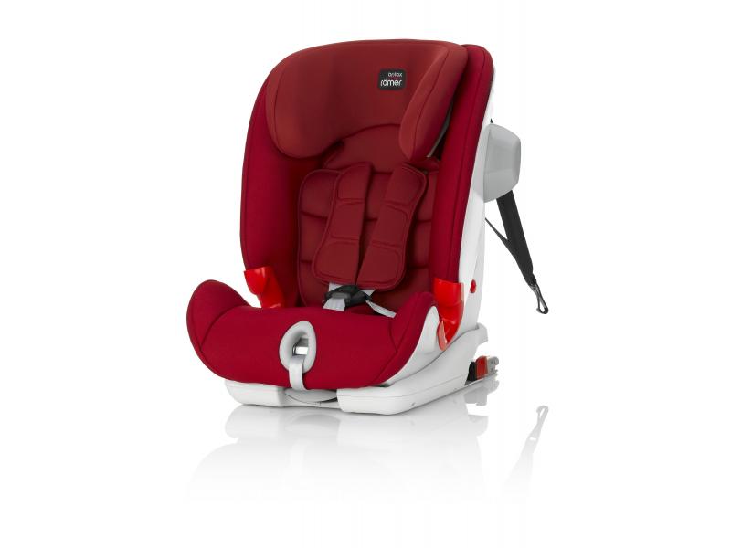 Britax Römer Autosedačka Advansafix III Sict 2017 Flame Red