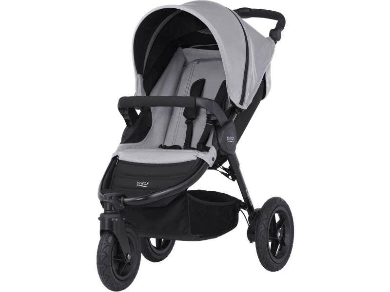 Britax Kočárek B-Motion 3, Steel Grey