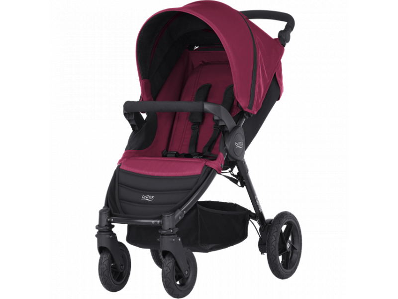 Britax Römer Kočárek B-Motion 4, Wine Red
