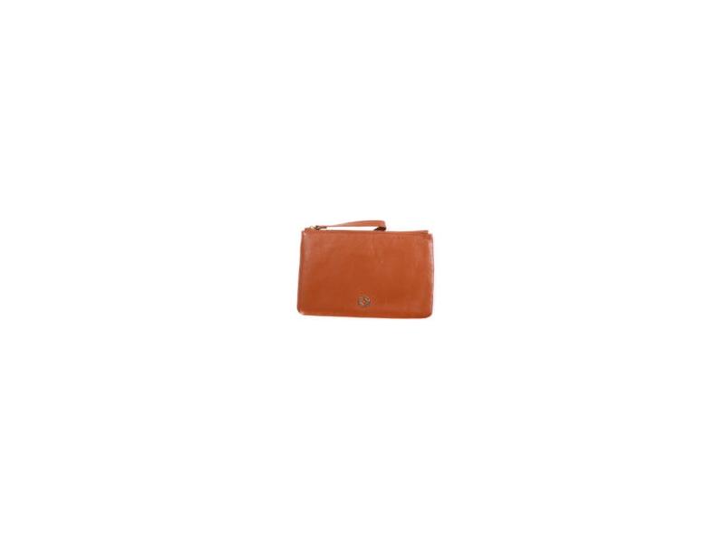 BHODIE TAN - malá kožená taška na ruku 1