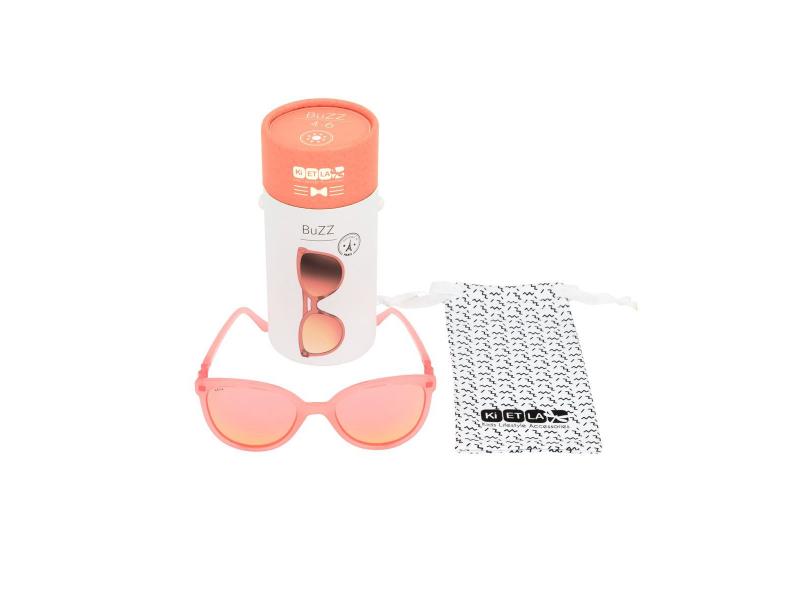Ki ET LA CraZyg-Zag sluneční brýle BUZZ 4-6 let, neon zrcadlovky