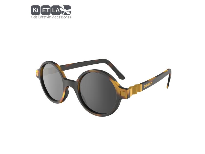 Ki ET LA Dětské sluneční brýle CraZyg-Zag 9-12 let lenonky - hnědé