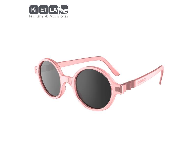 Ki ET LA Dětské sluneční brýle CraZyg-Zag 9-12 let lenonky - růžové