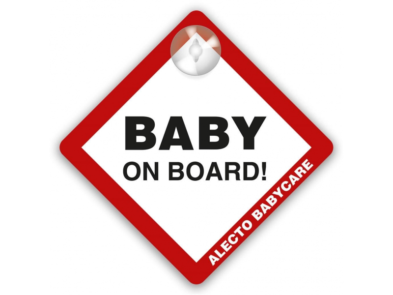 nálepka dítě na palubě 1
