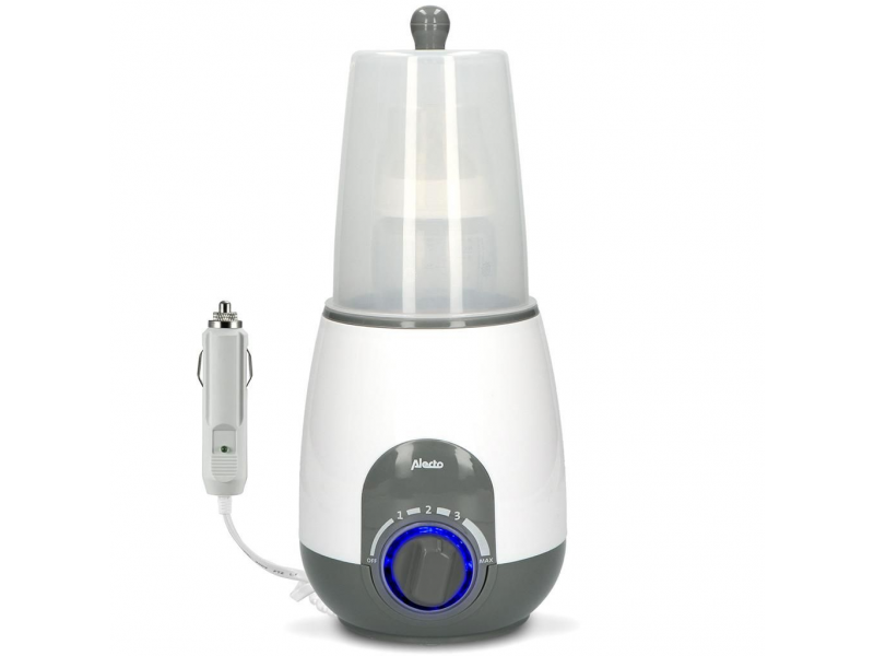 ALECTO Ohřívačka lahví s možností použití i v autě CAR+
