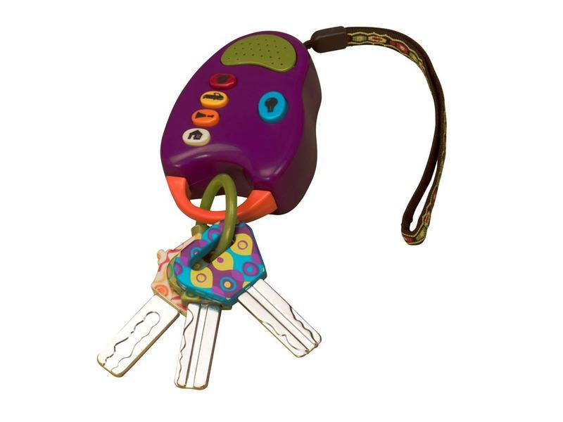B-Toys Klíčky k autu FunKeys