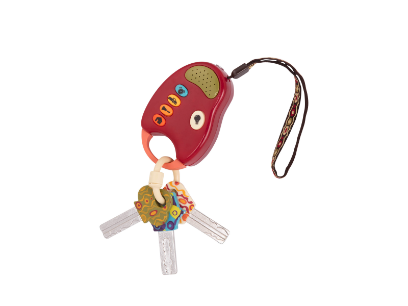 Klíčky k autu FunKeys červené 1