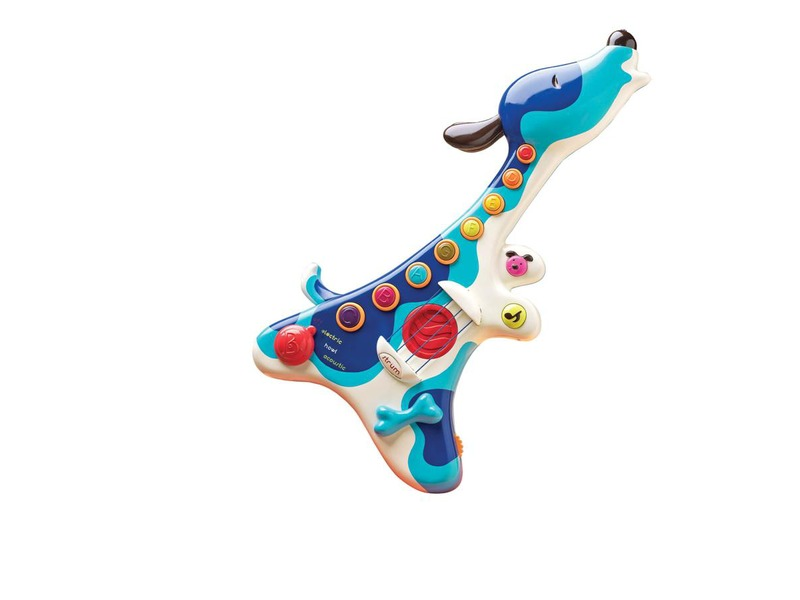 Elektronická kytara pejsek Woofer 1