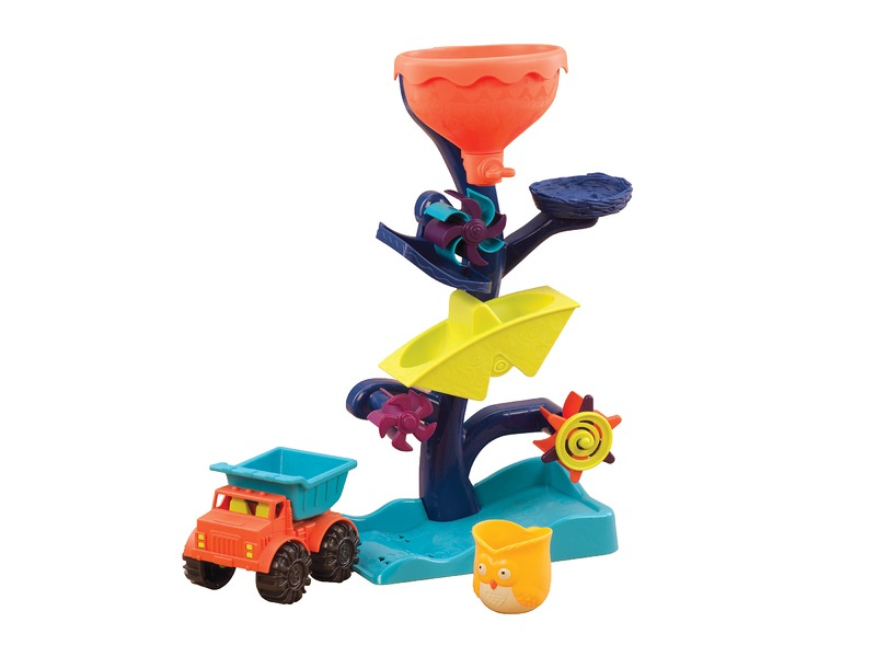 B-Toys Vodní mlýnek s náklaďákem