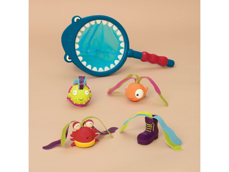 Podběrák s hračkami na potápění Žralok Finley 1
